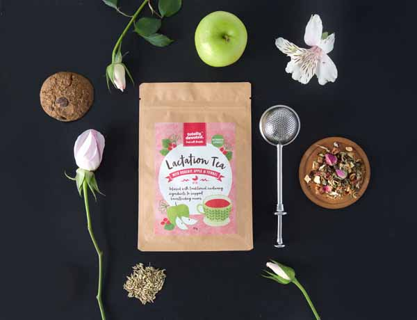 Lactation Tea for Breastfeeding Mums